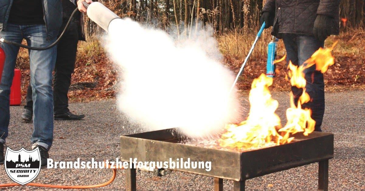 Ausbildung zum Brandschutzhelfer nach DGUV 1, ASR A2.2 und §10 ArbSchG